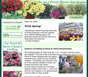 Greenhouse Newsletter